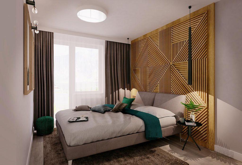 Apartamenty Zakopianskie przykladowy wystroj sypialnia 1024x696 - Zainwestuj w Zakopane – nieruchomości wakacyjne coraz bardziej popularne