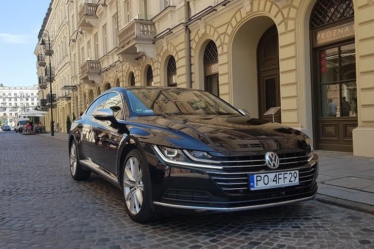 1 2 - Volkswagen Arteon 2.0 TDI DSG Elegance - systemy wspomagające kierowcę