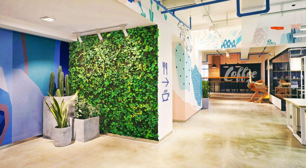 rośliny 1024x562 - Mobilność dekoracji, czyli szybka metamorfoza biura