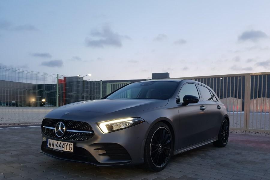 1 1 - Mercedes A-klasa - inteligentne premium