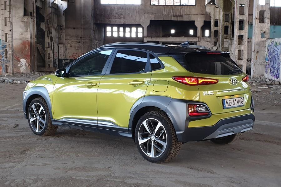 2 - Hyundai KONA - crossover w swoim stylu