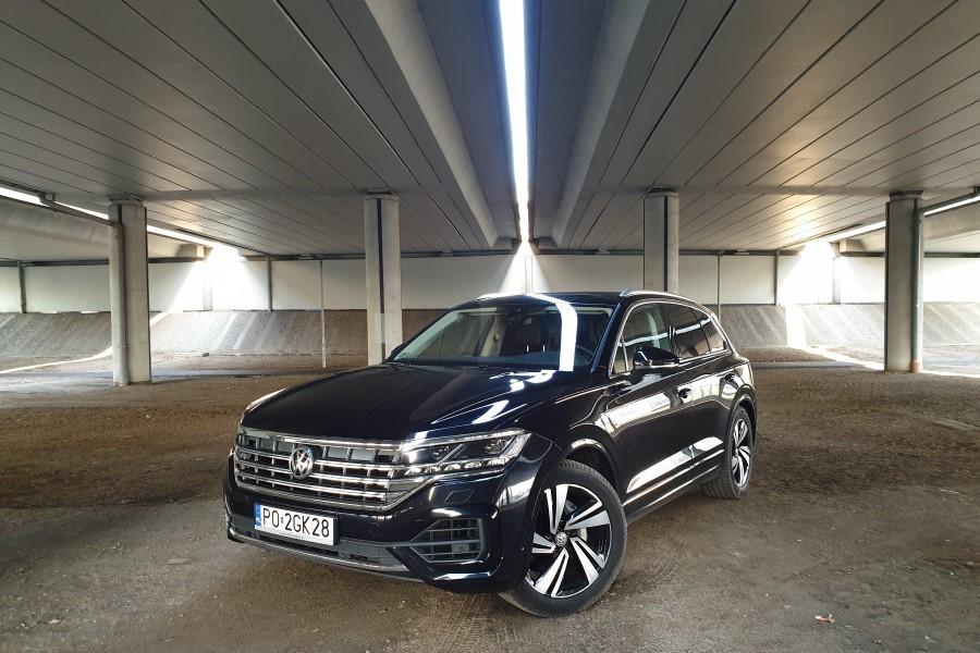 1 - Volkswagen Touareg - premium z Wolfsburga