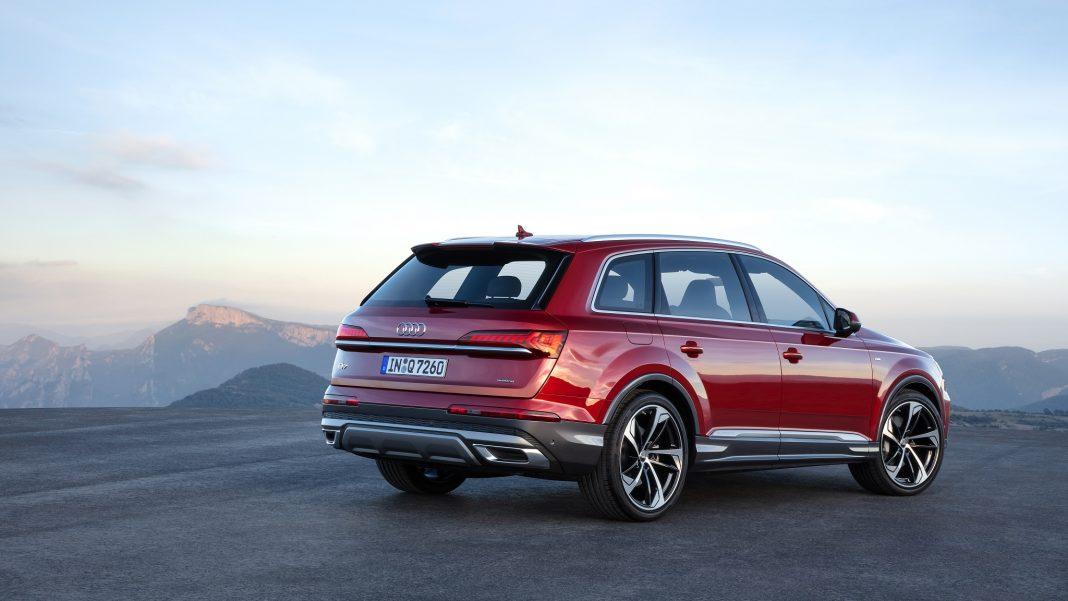 AQ7 tył 2019 - Nowa wersja Audi Q7