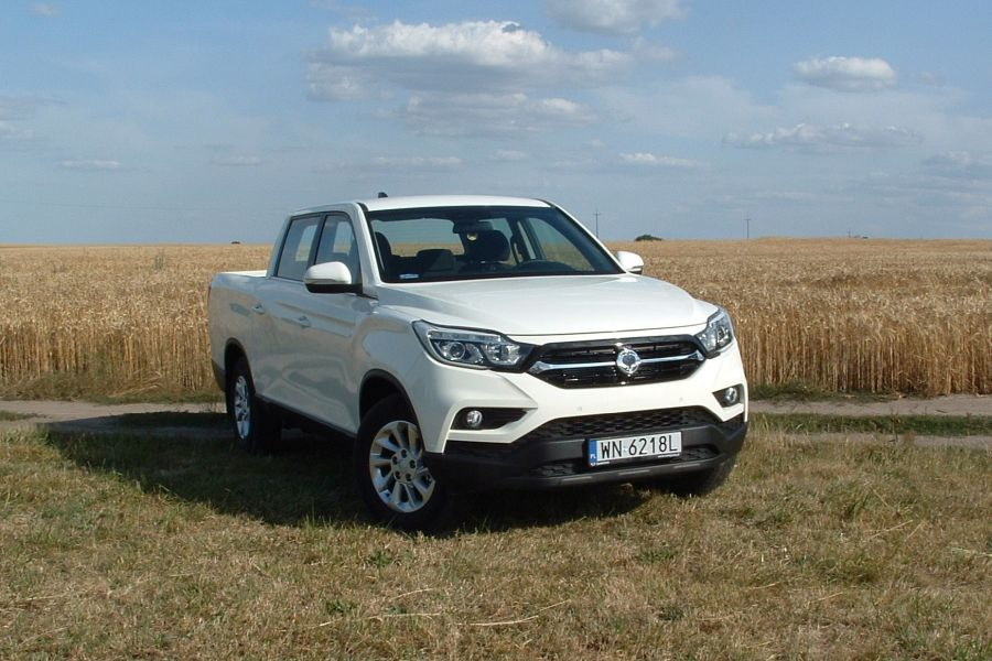 1 2 - Test SsangYong Musso Grand 2.2 Quartz 4WD
