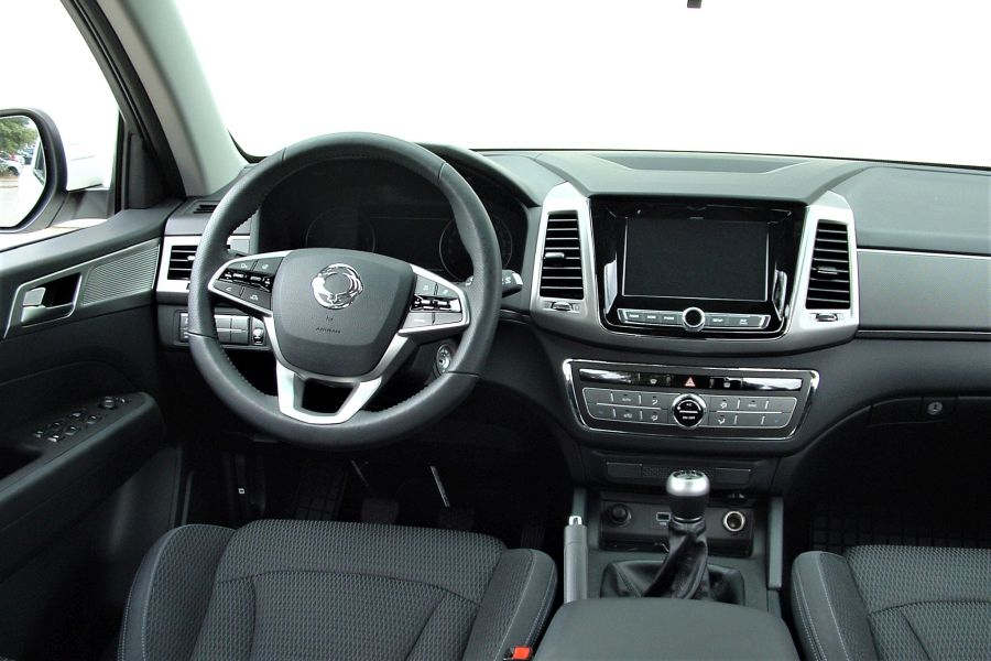 22 - Test SsangYong Musso Grand 2.2 Quartz 4WD