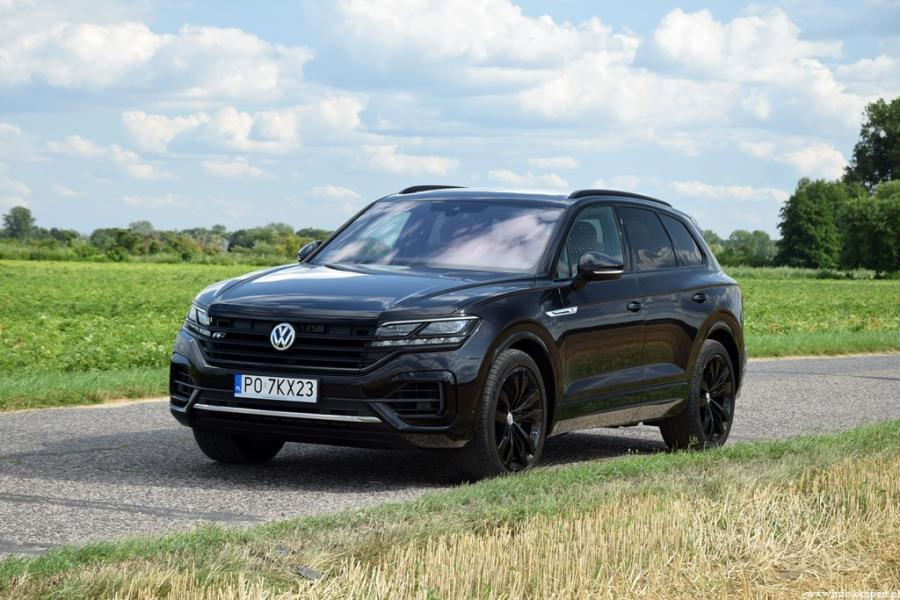 37 - Test Volkswagen Touareg 3.0 V6 TDI R Line Black