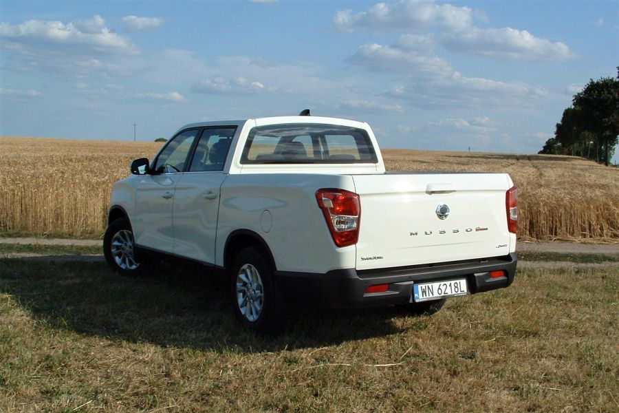 4 - Test SsangYong Musso Grand 2.2 Quartz 4WD