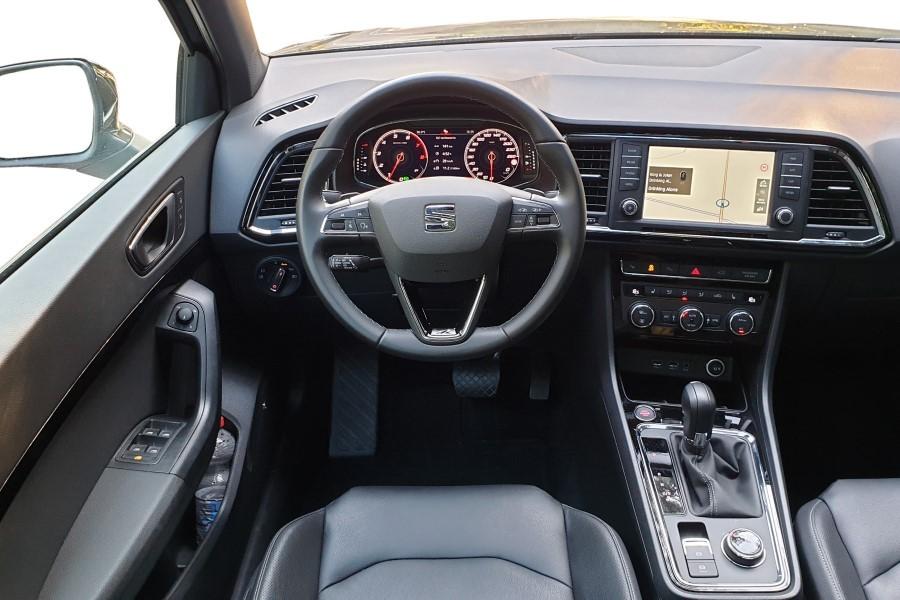 10 - Seat Ateca 2.0 TSI vs. Leon Kombi 1.5 TSI – trud wyboru
