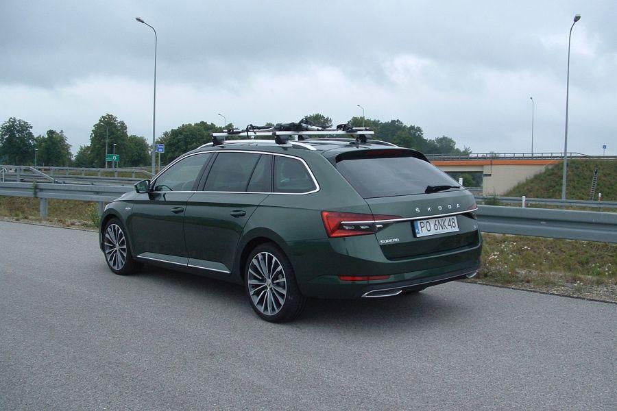 Test Škoda Superb iV, 1.4 TSI Plug-In Hybrid Laurin & Klement