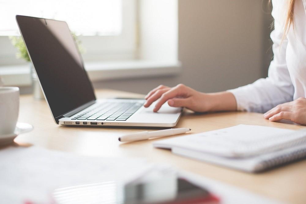 komputer - składanie wniosku o pożyczkę