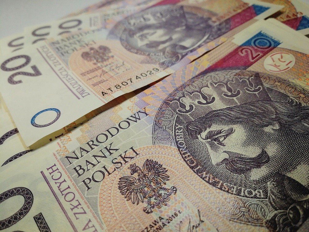 banknoty 20-złotowe - finansowanie zakupów